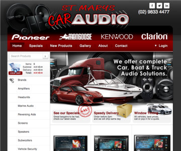 Portfolio - St Mary's Car Audio